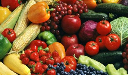 میوه و سبزیجات برای درمان بواسیر