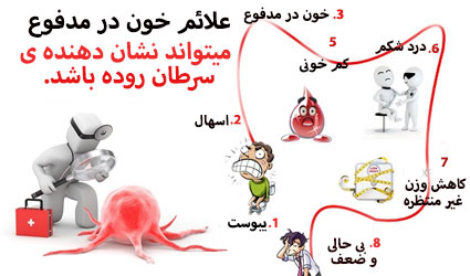علائم خون در مدفوع