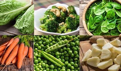 سبزیجات برای درمان یبوست