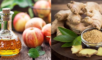 سرکه سیب و زنجبیل